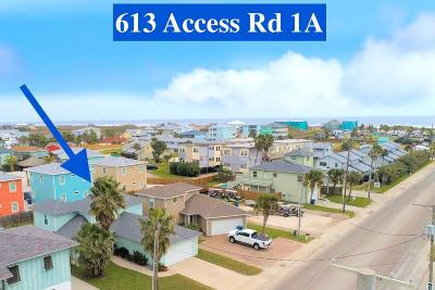 Port Aransas Single Family Home For Sale: 613 Access Road 1-A