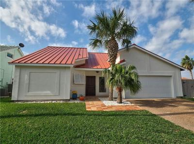 Port Aransas Single Family Home For Sale: 391 Bahia Mar