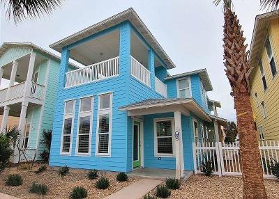 Port Aransas Single Family Home For Sale: 2525 S 11th St
