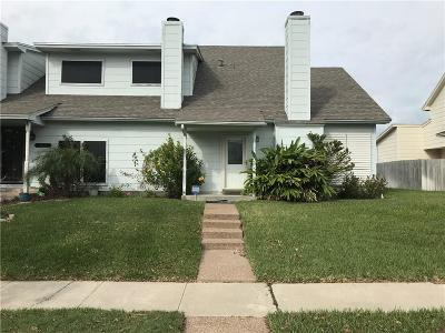 Corpus Christi TX Condo/Townhouse For Sale: $124,000