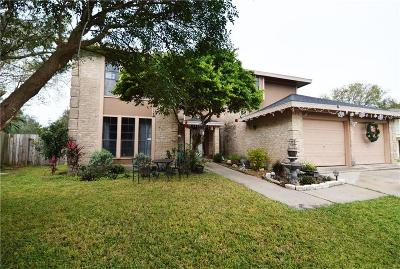 Corpus Christi TX Single Family Home For Sale: $220,000