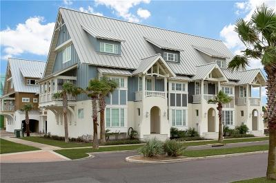 Port Aransas Condo/Townhouse For Sale: 118 Wild Indigo St #D
