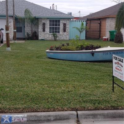Aransas Pass Single Family Home For Sale: 731 S Houston St
