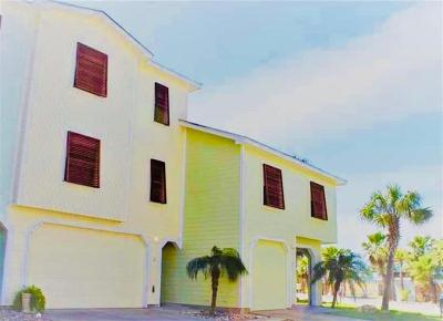 Port Aransas Condo/Townhouse For Sale: 247 W Roberts Ave #6