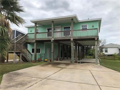 Port Aransas Single Family Home For Sale: 518 E White Ave