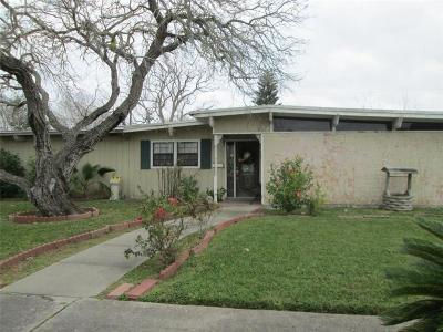 Corpus Christi TX Single Family Home For Sale: $172,400