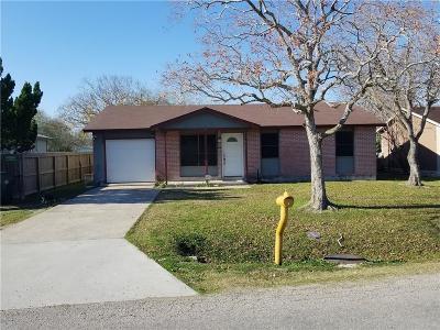 Corpus Christi Single Family Home For Sale: 4225 Leonard Dr