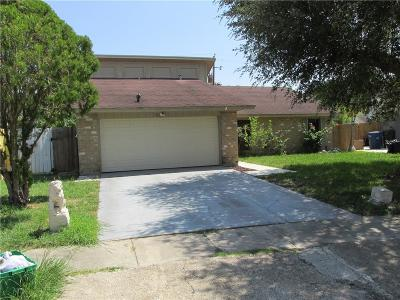 Corpus Christi Single Family Home For Sale: 6912 Crosstimbers Dr