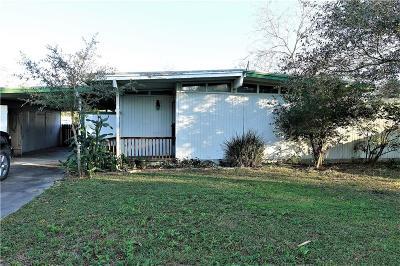 Corpus Christi TX Single Family Home For Sale: $74,500