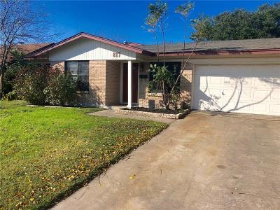 Corpus Christi Single Family Home For Sale: 817 Crestview Dr