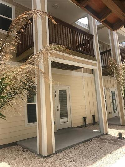 Corpus Christi Condo/Townhouse For Sale: 14917 Packery View