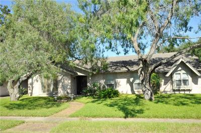 Corpus Christi Single Family Home For Sale: 4318 Congressional Dr