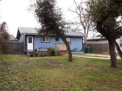 Aransas Pass Single Family Home For Sale: 608 S 10th St