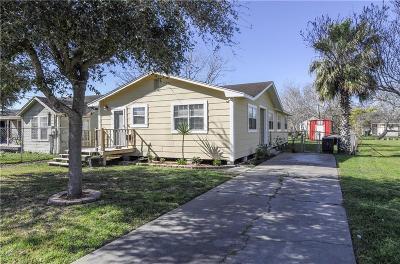 Corpus Christi TX Single Family Home For Sale: $90,000