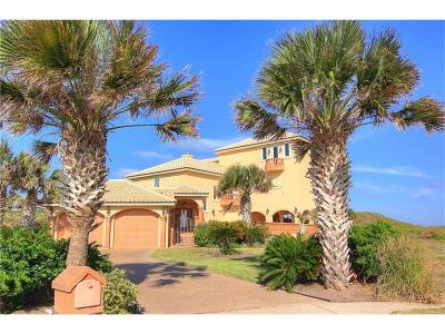 Port Aransas Single Family Home For Sale: 106 Sea Bird