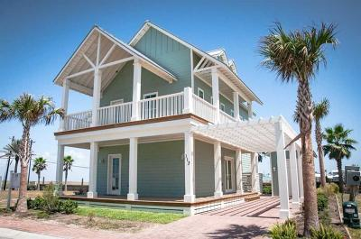 Port Aransas Single Family Home For Sale: 113 Wild Horse Dr
