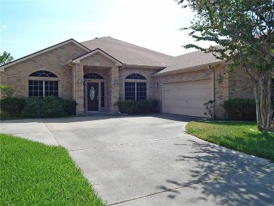 Single Family Home For Sale: 7466 Lake Travis Dr
