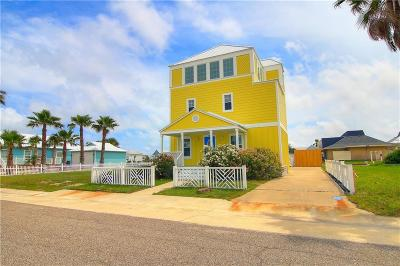 Port Aransas Single Family Home For Sale: 196 Beachwalk Lane