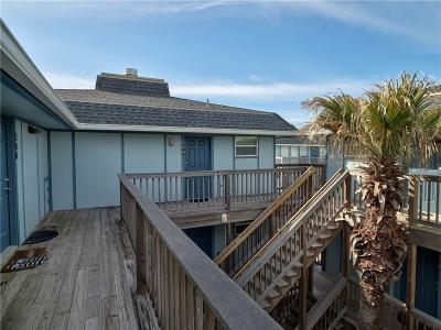Port Aransas Condo/Townhouse For Sale: 1319 S 11th St #205