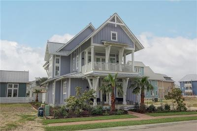 Port Aransas Single Family Home For Sale: 258 Hide Away Dr