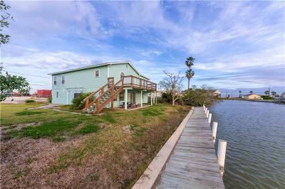 Rockport Single Family Home For Sale: 619 Copano Cove Road