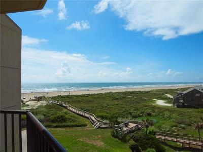 Port Aransas Condo/Townhouse For Sale: 800 Sandcastle Dr #409