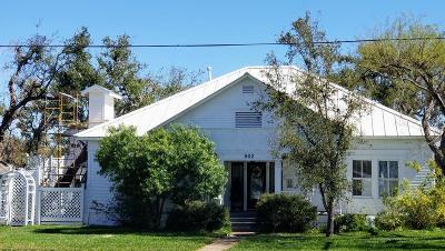 Rockport Single Family Home For Sale: 802 N Live Oak St