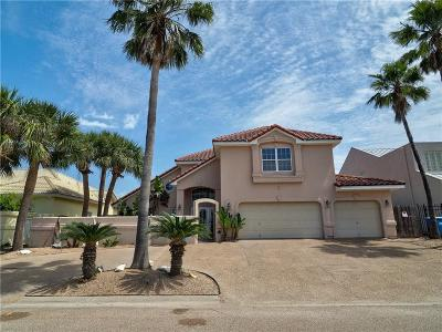 Port Aransas Single Family Home For Sale: 406 Marina Dr