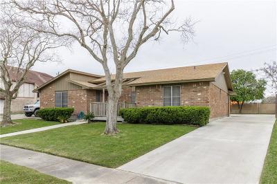 Corpus Christi TX Single Family Home For Sale: $215,000