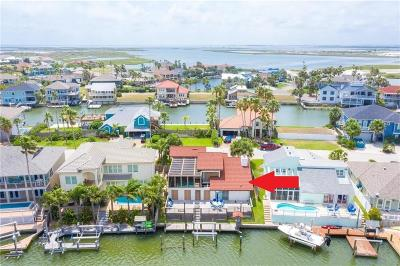 Island Moorings, Island Moorings Unit 1, Island Moorings Unit 2, Mustang Beach, Mustang Beach Unit 2, Sunset Cove Unit #2 Single Family Home For Sale: 460 Bahia Mar