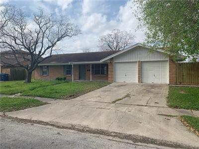 Corpus Christi Single Family Home For Sale: 5905 Obrian Dr