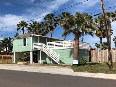 Port Aransas Single Family Home For Sale: 928 S Station St