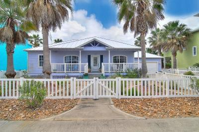 Port Aransas Single Family Home For Sale: 333 Keewaydin