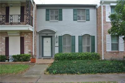 Corpus Christi TX Condo/Townhouse For Sale: $115,000
