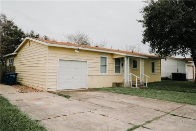 Corpus Christi TX Single Family Home For Sale: $139,900