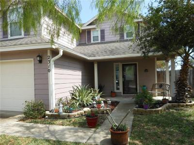 Corpus Christi TX Single Family Home For Sale: $187,000