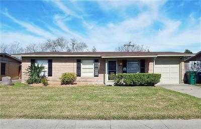 Corpus Christi TX Single Family Home For Sale: $143,000