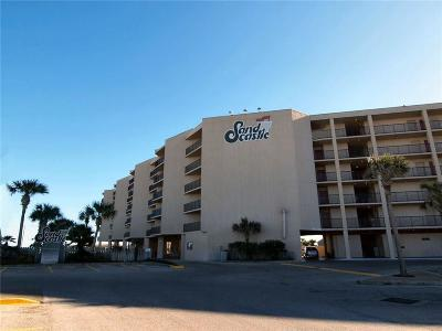 Port Aransas Condo/Townhouse For Sale: 800 Sandcastle #227