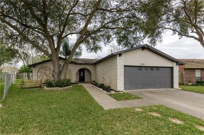 Corpus Christi Single Family Home For Sale: 3810 Wilmont Dr.