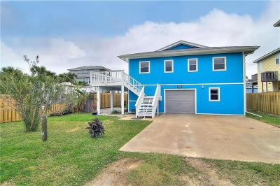 Port Aransas Single Family Home For Sale: 407 W Farley