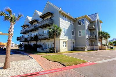 Port Aransas Condo/Townhouse For Sale: 170 Social Circ #1-102
