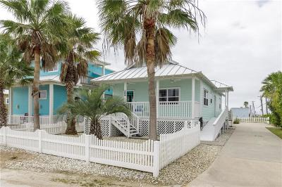 Port Aransas Single Family Home For Sale: 104 Beachwalk Lane