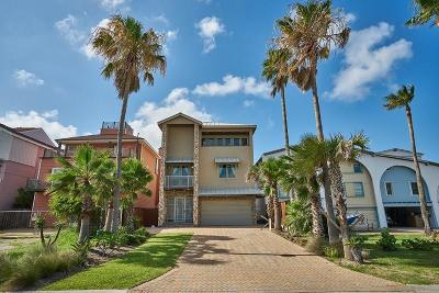 Port Aransas Single Family Home For Sale: 340 W Cotter Ave