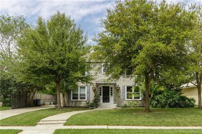 Corpus Christi Single Family Home For Sale: 218 Rosebud Ave