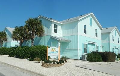 Corpus Christi Condo/Townhouse For Sale: 15104 Beach Country Drive
