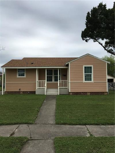 Corpus Christi TX Single Family Home For Sale: $110,000