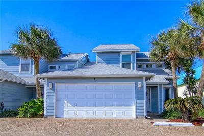 Port Aransas Condo/Townhouse For Sale: 600 Access Road 1-A #1