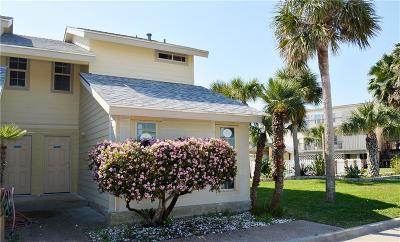 Port Aransas Condo/Townhouse For Sale: 715 Beach Access Road 1a #1606