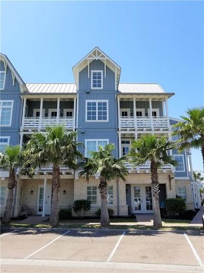Port Aransas Condo/Townhouse For Sale: 140 Social