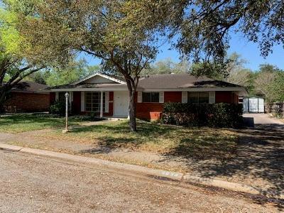 Kingsville Single Family Home For Sale: 1620 Santa Monica St